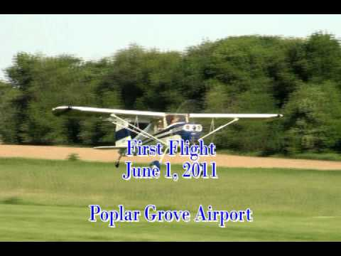 Scott Ross and his Cessna 120