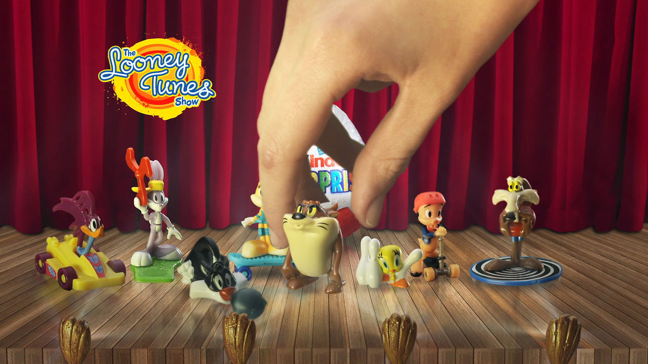 Kinder Surprise Looney Tunes commercial
