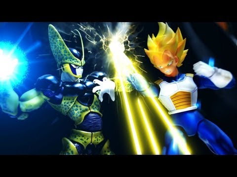 Dragon Ball Z Stop Motion - Cell's return 七龍珠動畫-賽魯回歸