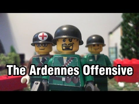 The Ardennes Offensive - Lego Stop Motion Animation