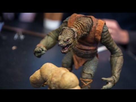 Behind-the-Scenes: Making the Stop-Motion Puppets for Star Wars: The Force Awakens!