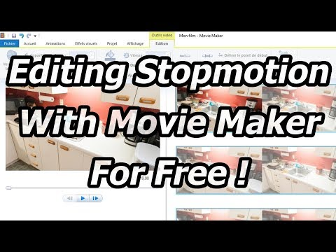 How to edit stop motion with Movie Maker for free