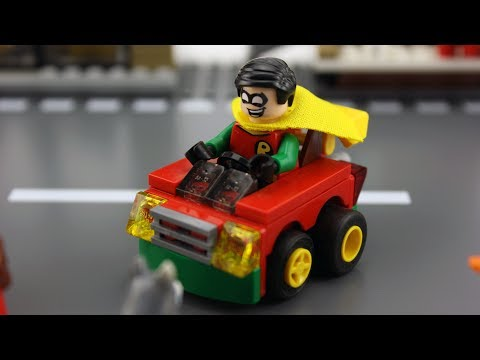 LEGO® Mighty Micros Racing Stop Motion Animation