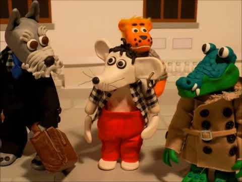 Stop Motion Animation  'ZEY THE MOUSE' Episode 4 'Clara's Birthday' London Westminster FIMO