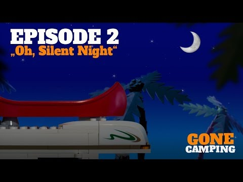 """Oh, silent night"" - GONE CAMPING Episode 2 LEGO"
