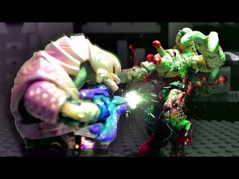 Arbiter Infection (Mega Construx Halo animation)