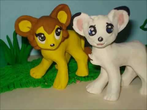 kimba the white lion anime jungle taitei