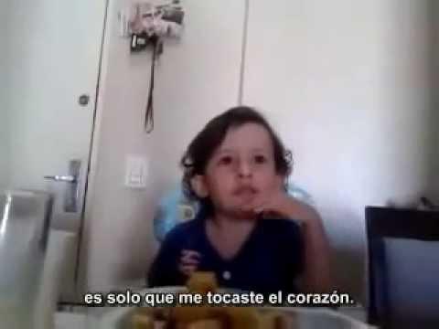 Un niño explica por qué no quiere comer animales