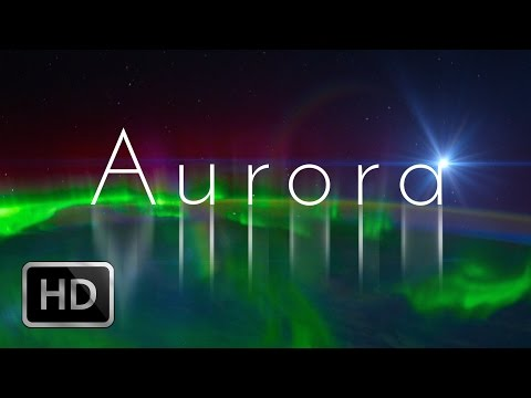 Aurora, Northern Lights, Flyover in HD, International Space Station