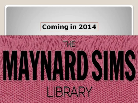 The Maynard Sims Library
