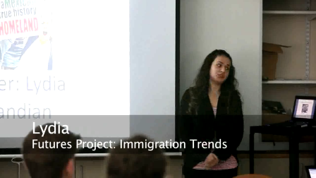 Foresight 2012 - Immigration