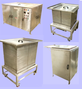 Tanks for ultrasonic, rinsing, dipping, Spray Etc.