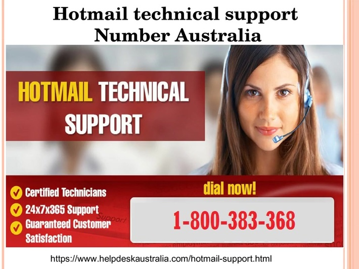 Hotmail Support 1-800-383-368 Number Australia-For Hotmail Account Problems