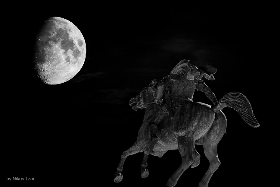 Alexander the Great and the Moon