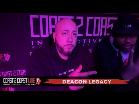 Deacon Legacy (@Deaconleg) Performs at Coast 2 Coast LIVE | NYC 4/18/19