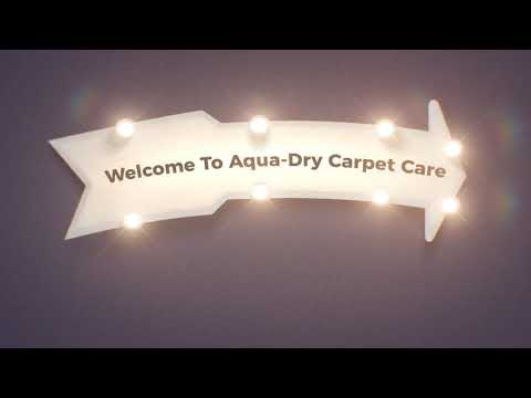 Aqua Dry Carpet Cleaner in Oxnard, CA