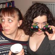 Llinos Mai and Hannah McPake