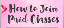 How to Join Paid Classes