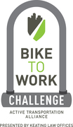 Bike to Work Challenge presented by Keating Law Offices