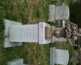 Gertrude's tombstone