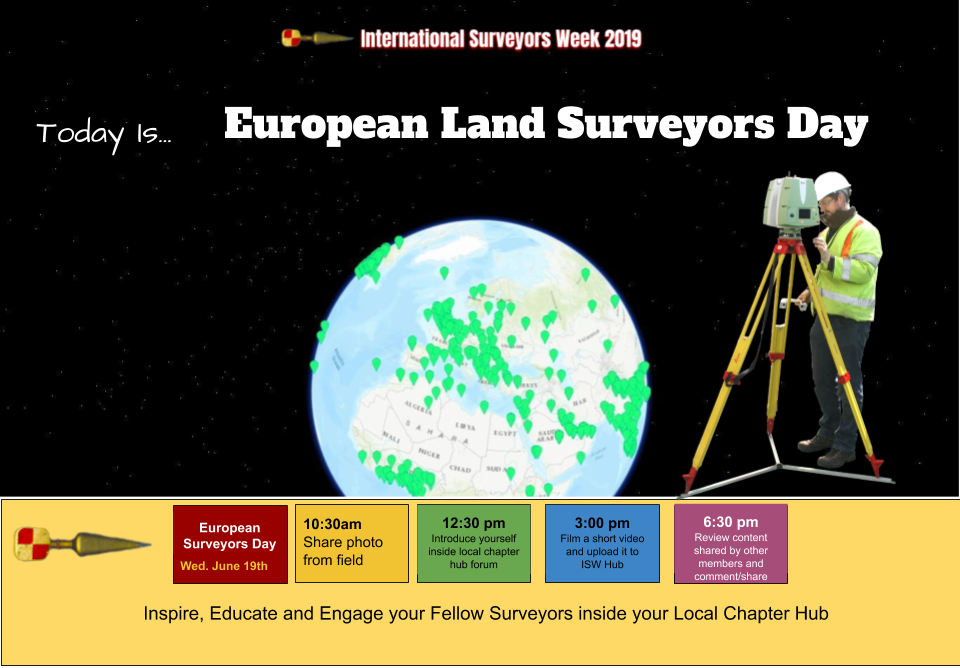 European Land Surveyors Day International Surveyors Week
