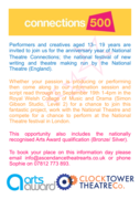 National Theatre Connections and Arts Award information session