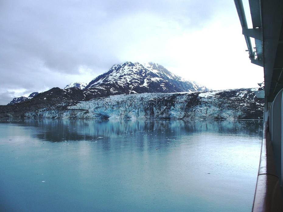 Lamplugh Glacier -- July 4