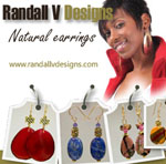Randall V Designs Is Giving Away Earrings--Five Pairs!