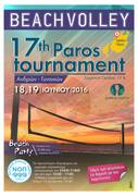 Beach Volley 17th Paros tournament
