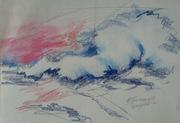 """Exhibition: """"a wave brings us together"""" / Έκθεση: """"ένα κύμα μας ενώνει"""""""