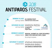 Antiparos Festival 2018 - Apostolos Rizos Concert