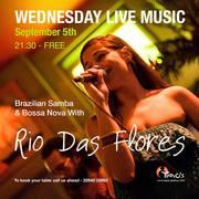 Samba & Bossa Nova with Rio Das Flores
