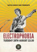 Electrophobia Live at Sativa Music Bar