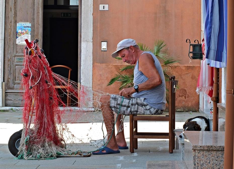 Vecchio Pescatore di Burano