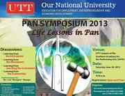 Pan Symposium - Life Lessons in Pan