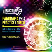 Hell's Gate Panorama 2014 Practice Launch