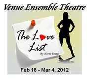 The Love List by Norm Foster, Venue Ensemble Theatre