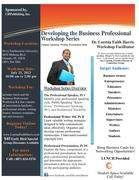 Developing the Business Professional Workshop Series