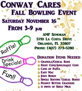 Conway Cares: Bowl 4 The Kids!