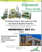 Xtreme Green East Coast Tour