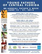 8th Annual Fathers Week Celebrations