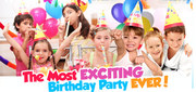 'The Happy Journey Children's Birthday Party Fun Expo'