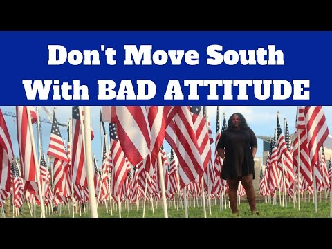Do Not Move South with a Bad Attitude