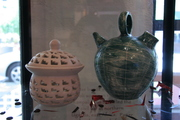 Pottery Exhibit Showcasing Judith Ariarte