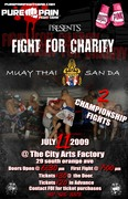 "Pure Pain Fight Gear & Project P.I.N.K Present ""Fight For Charity"""