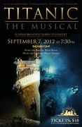 Concert version of Titanic - The Musical