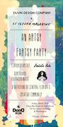 Duvin x Et Cetera Mag Artsy Fartsy Party