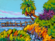 Warm Colors and Cool Waters with Local Artists Tom Sadler and Sally Evans