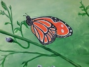 Acrylic Painting Kids Class - Butterfly