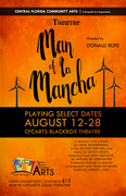 Central Florida Community Arts- Man of La Mancha